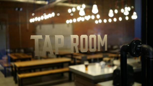 sam adams tap room